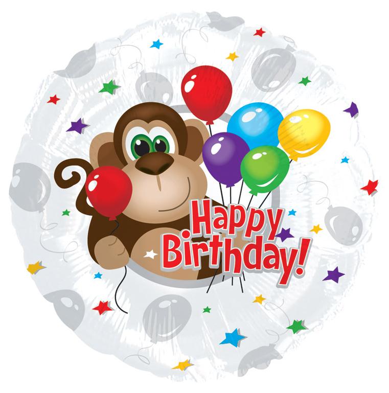 Поздравления с днем рождения обезьяне